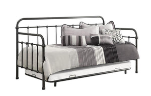 Twin Daybed With Trundle - Daybed With Trundle Dark Bronze