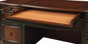 Open image in slideshow, Gorman Collection - Gorman 7-drawer Credenza Espresso And Chestnut