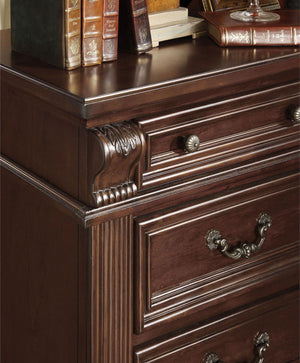 Open image in slideshow, Esperia - Night Stand - Brown Cherry