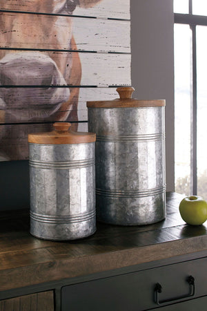 Open image in slideshow, Divakar Jar (Set of 2)