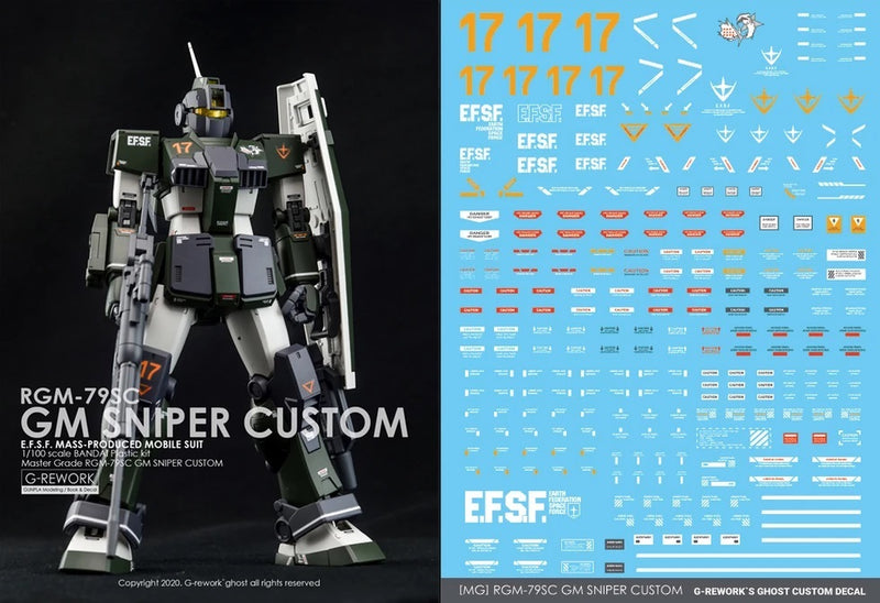 Gunprimer - G-Reworks - [MG] RGM-79SC GM Sniper Custom