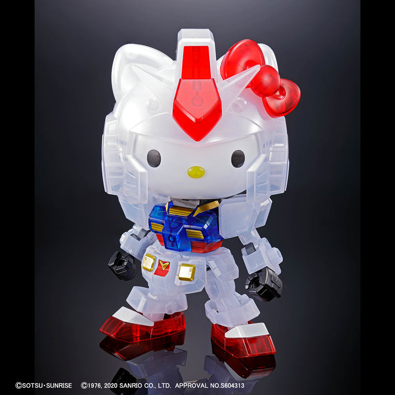 SD EX Standard - RX-78-2 Gundam & Hello Kitty [Clear Color] The Gundam Base Limited