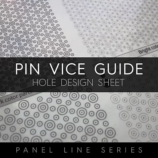 Gunprimer - Pin Vice Guide - Hole Design Sheet