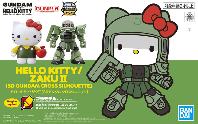 SD EX Standard - MS-06S Zaku 2 & Hello Kitty