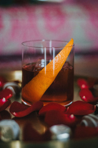 Rose Negroni Cocktail