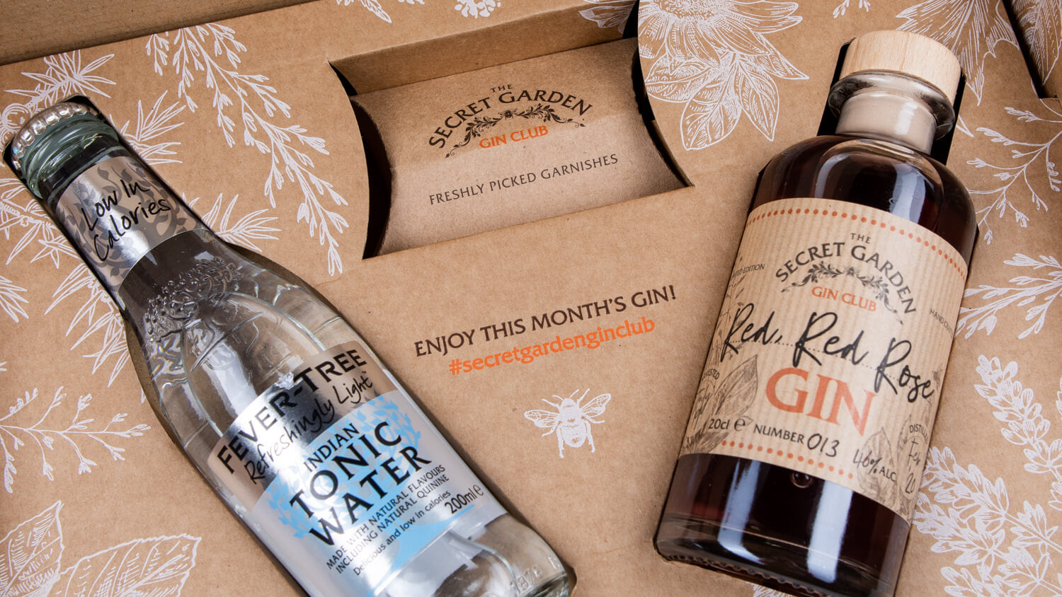 The Old Curiosity Gin Club - Monthly Gin Subscriptions