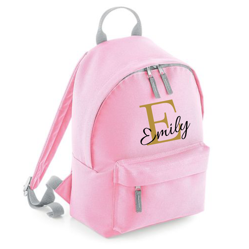 Girls Mini Personalised Backpack