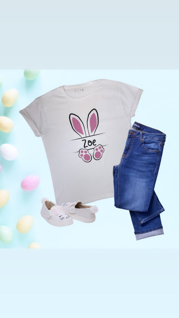 Personalised Easter Bunny T-Shirt