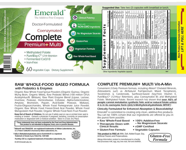 Emerald Complete Premium Multi Label