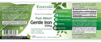 Emerald Gentle Iron Label