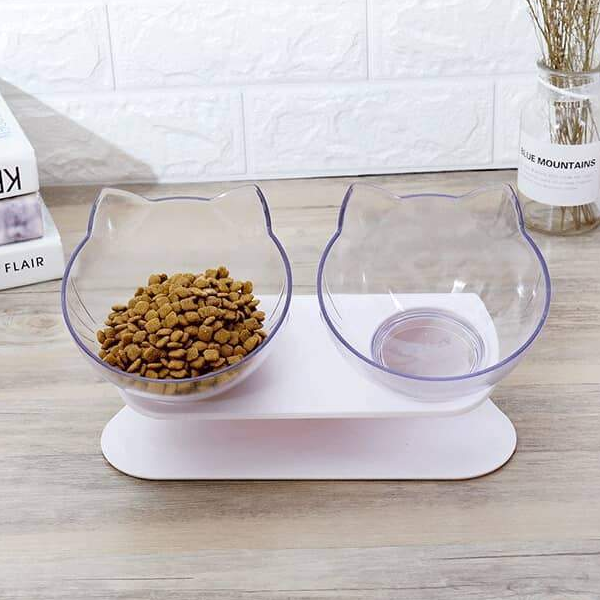 SafeBowl™ Orthopedic Anti-Vomiting Cat Feeder