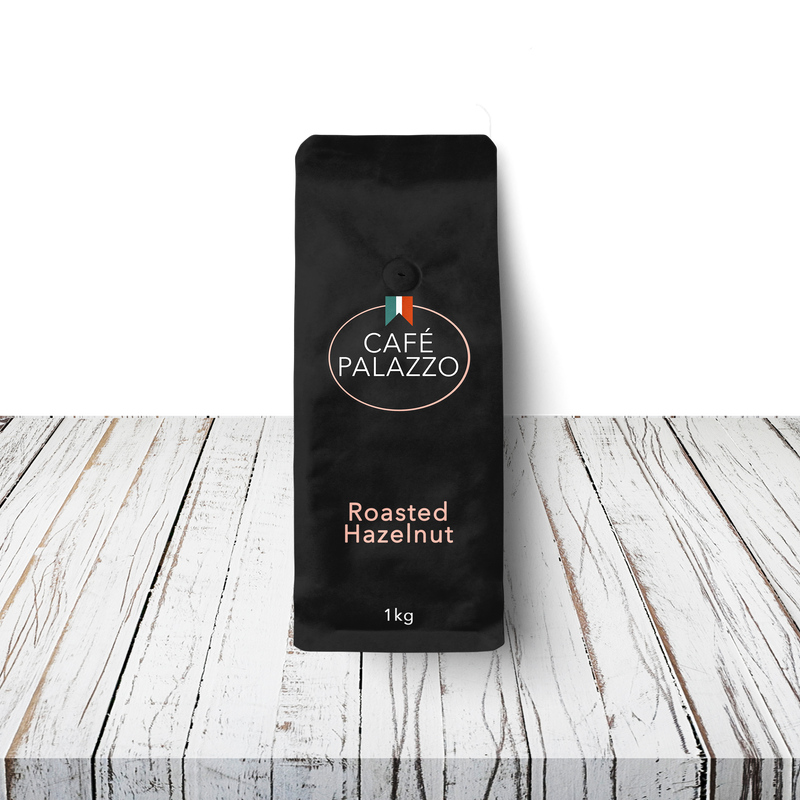 Café Palazzo Roasted Hazelnut Flavoured Coffee