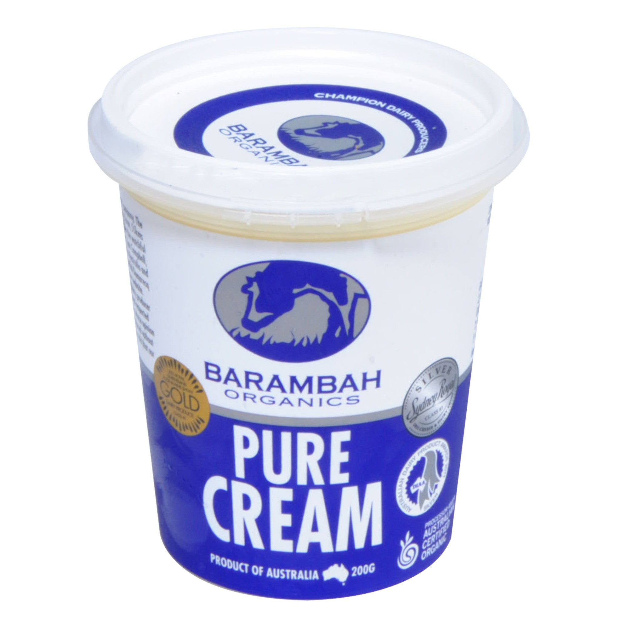 Pure Cream (200ml) Organic Barambah