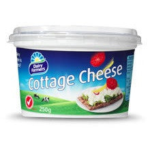Cottage Cheese - Natural (250g) Dairy Farmers