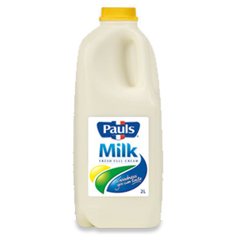 Milk - Full Cream (2L) Pauls