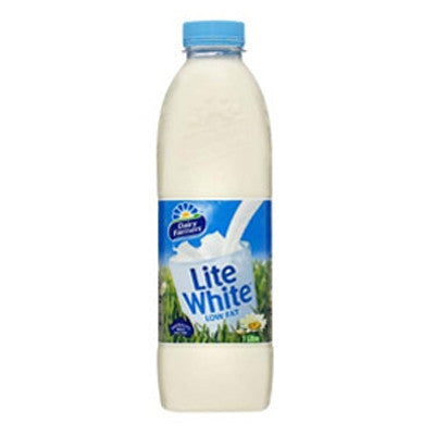 Milk - Lite White (1L) Dairy Farmers