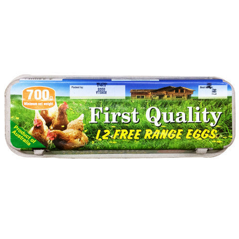 Eggs -Free Range (700g) First Quality