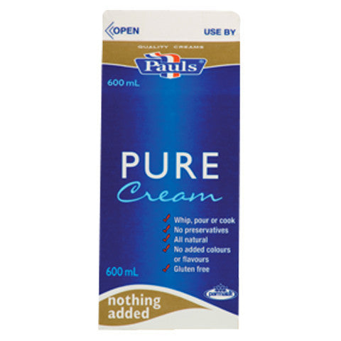 Pure Cream (600ml) Pauls