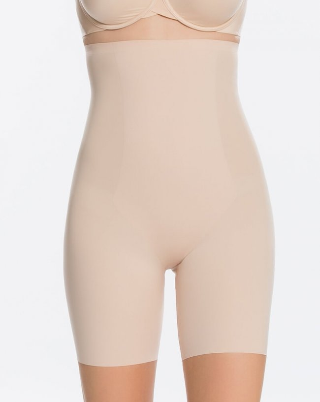 Spanx Corrigerende High Waste Short Huid