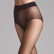 Afbeelding in Gallery-weergave laden, Wolford panty Pure 10 nearly black