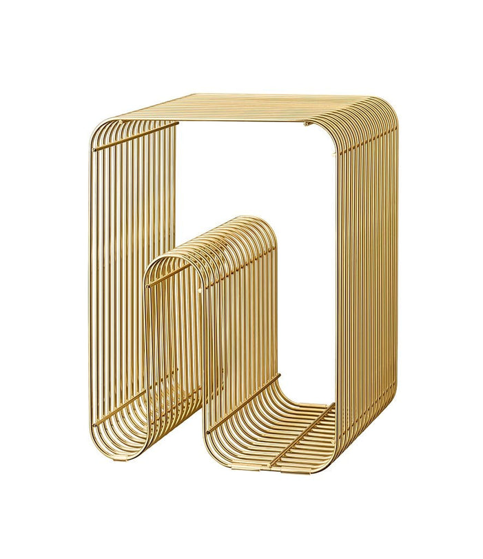 Curva Stool Gold