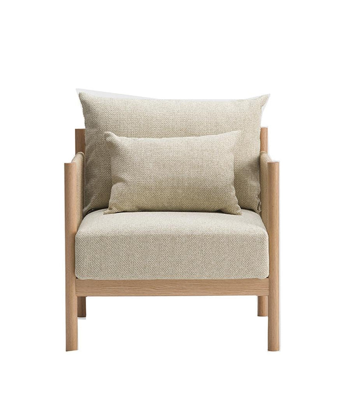 Braid Sofa 1-Seater in Natural Oak