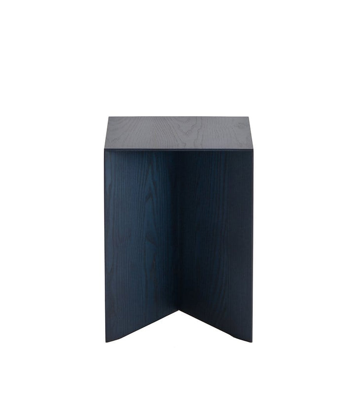 Paperwood Side Table in Indigo Ash
