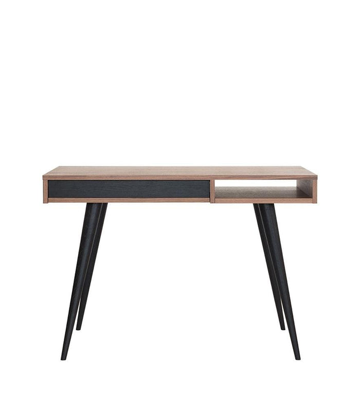 Celine Desk Walnut Black