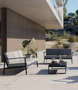 Eos Outdoor Coffee Table Black
