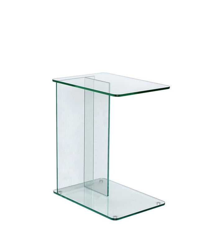 Lucent Laptop Table in Clear Glass