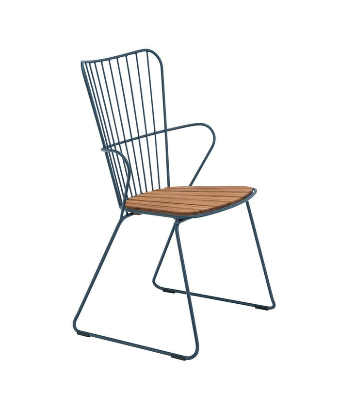 Paon Dining Chair Outdoor Midnight Blue