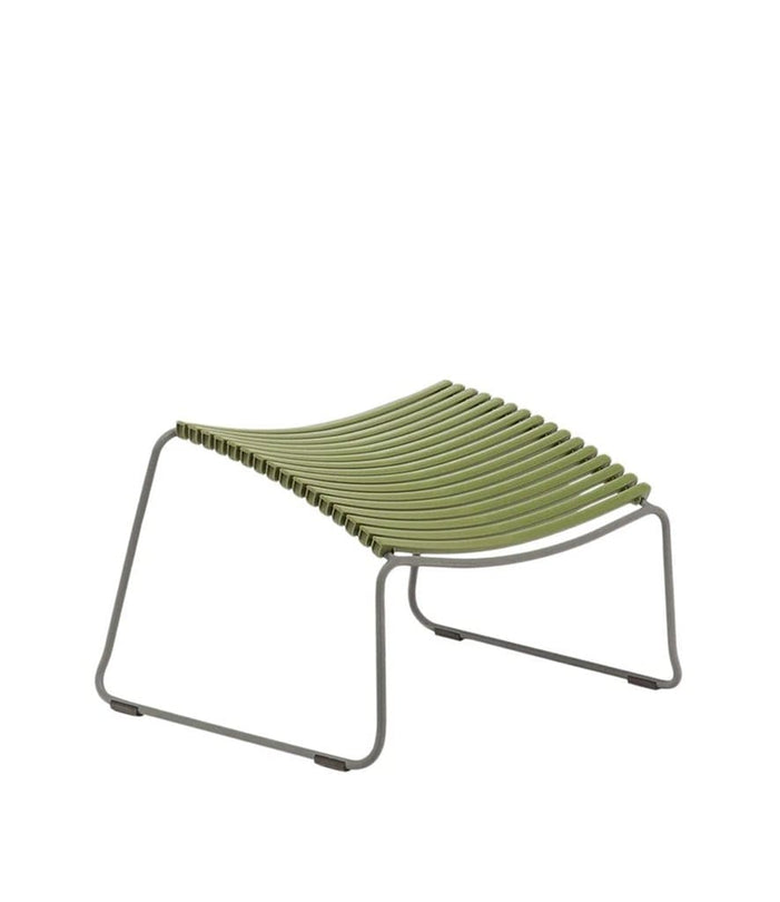 Click Footrest Outdoor Olive Green