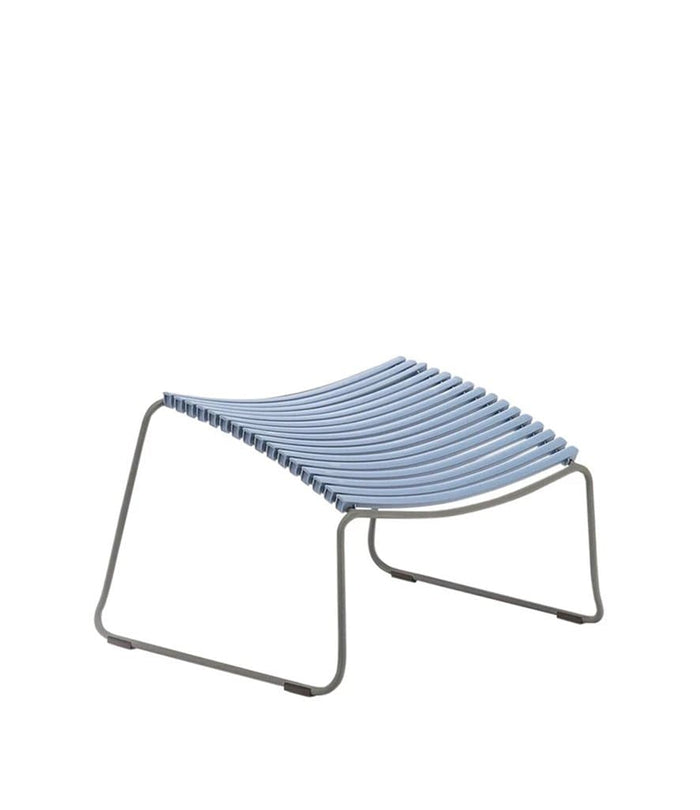 Click Footrest Outdoor Pigeon Blue