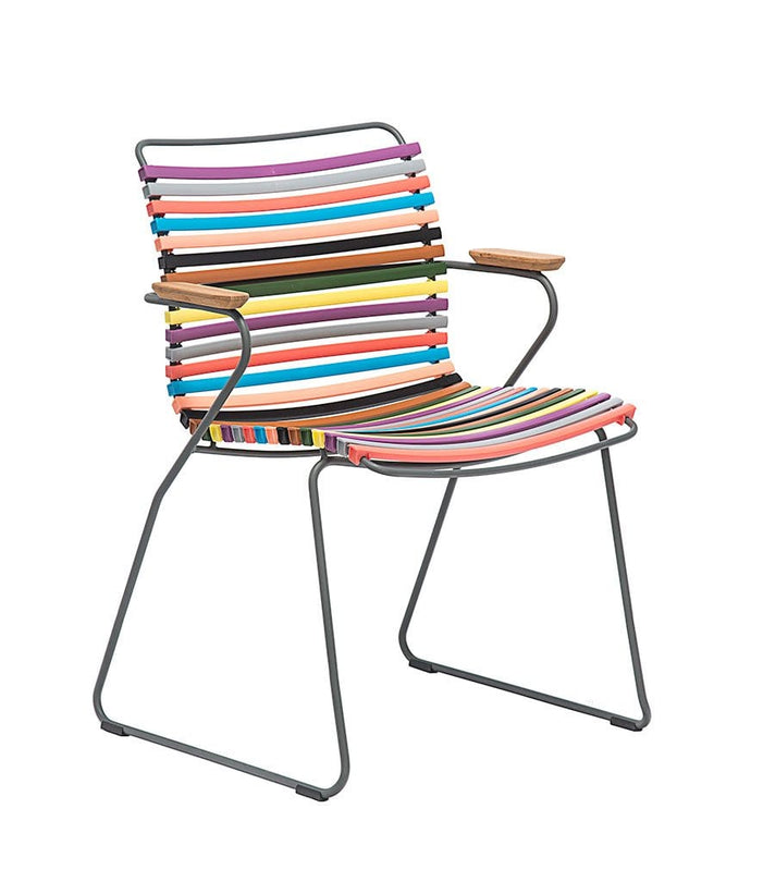 Click Dining Chair Outdoor Multi Color 1