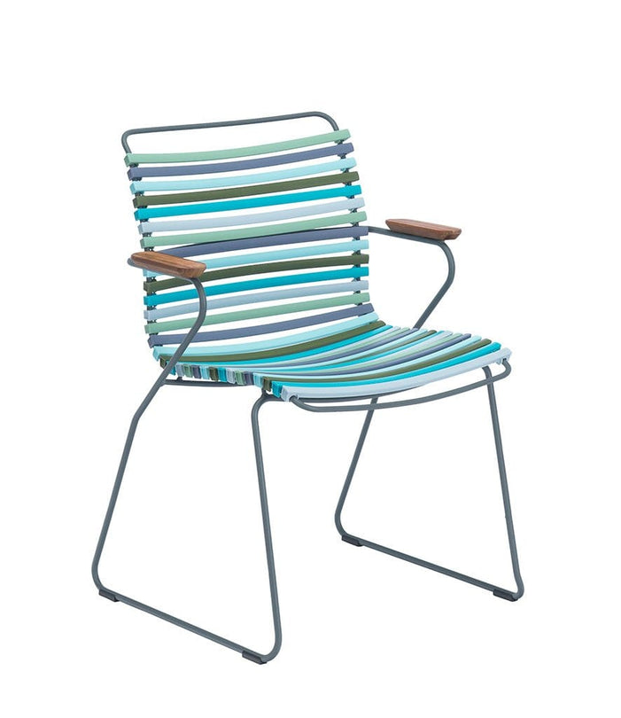 Click Dining Chair Outdoor Multi Color 2