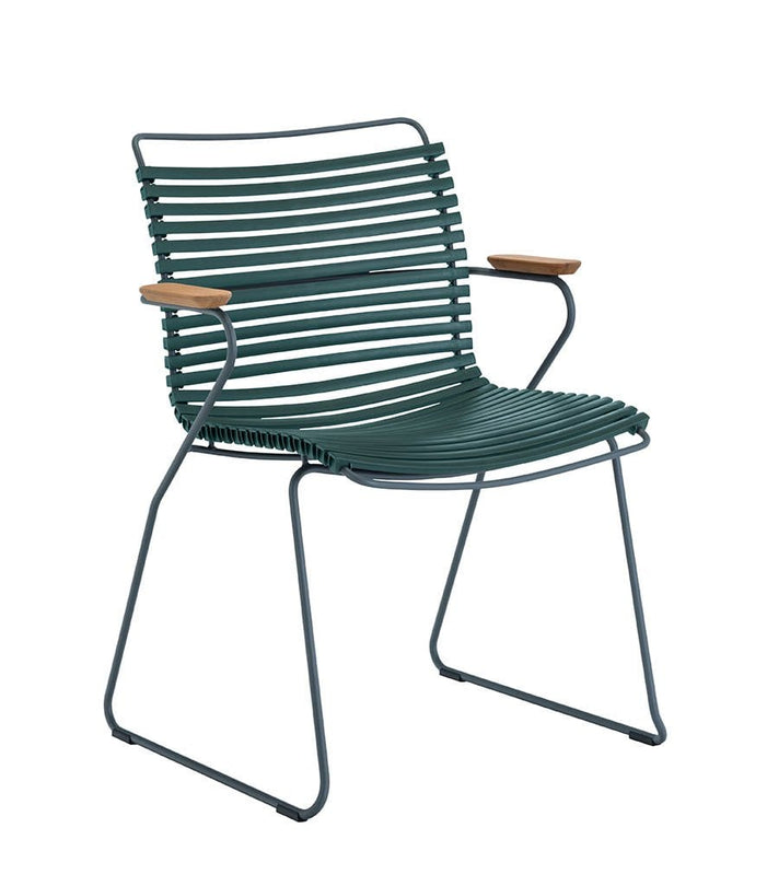 Click Dining Chair Outdoor Pine Green
