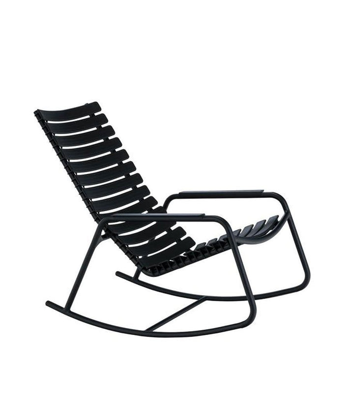 Clips Outdoor Rocking Chair Black