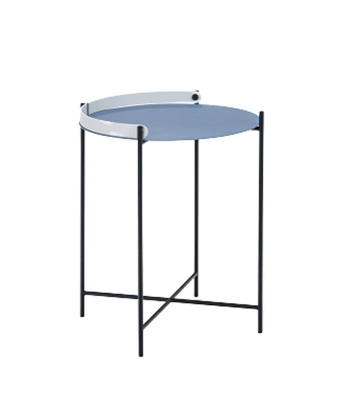 Edge Tray Outdoor Table Pigeon Blue Dia46