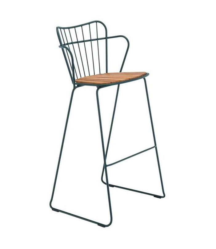 Paon Outdoor Bar Stool Pine Green