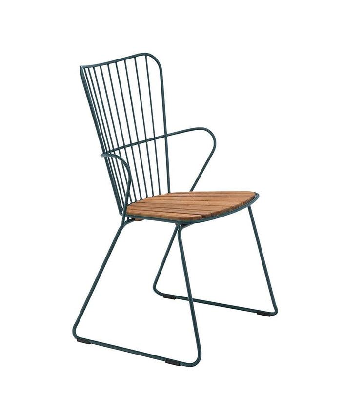 Paon Dining Chair Outdoor Pine Green