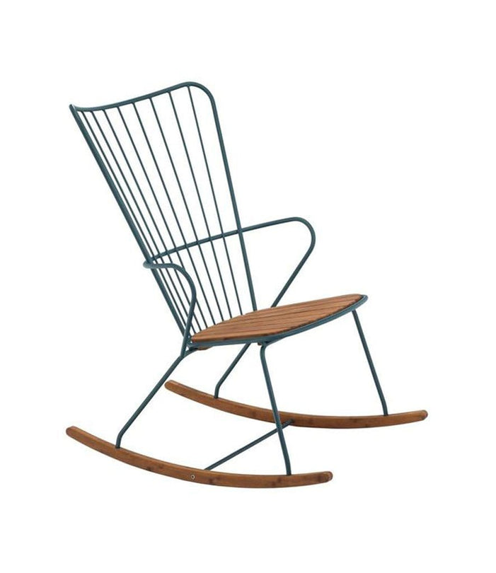 Paon Rocking Chair Outdoor Pine Green