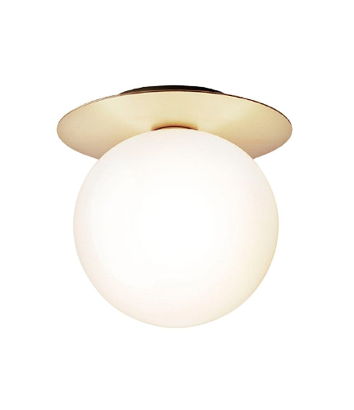 Liila 1 Large Nordic Gold Opal White Wall/Ceiling