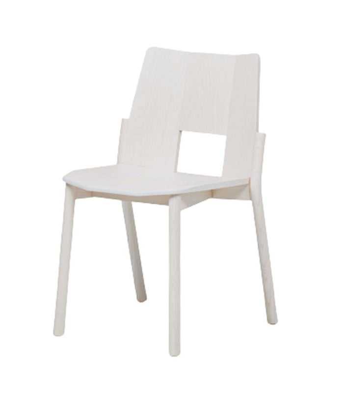 Tronco Chair White Ash