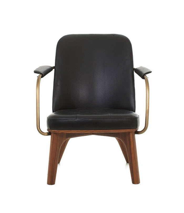 Utility Lounge Chair in Walnut