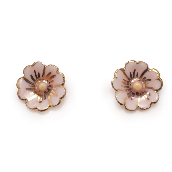 Alberta Wild Rose Earrings