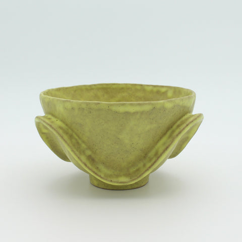 Medium Bowl Yellow Wave