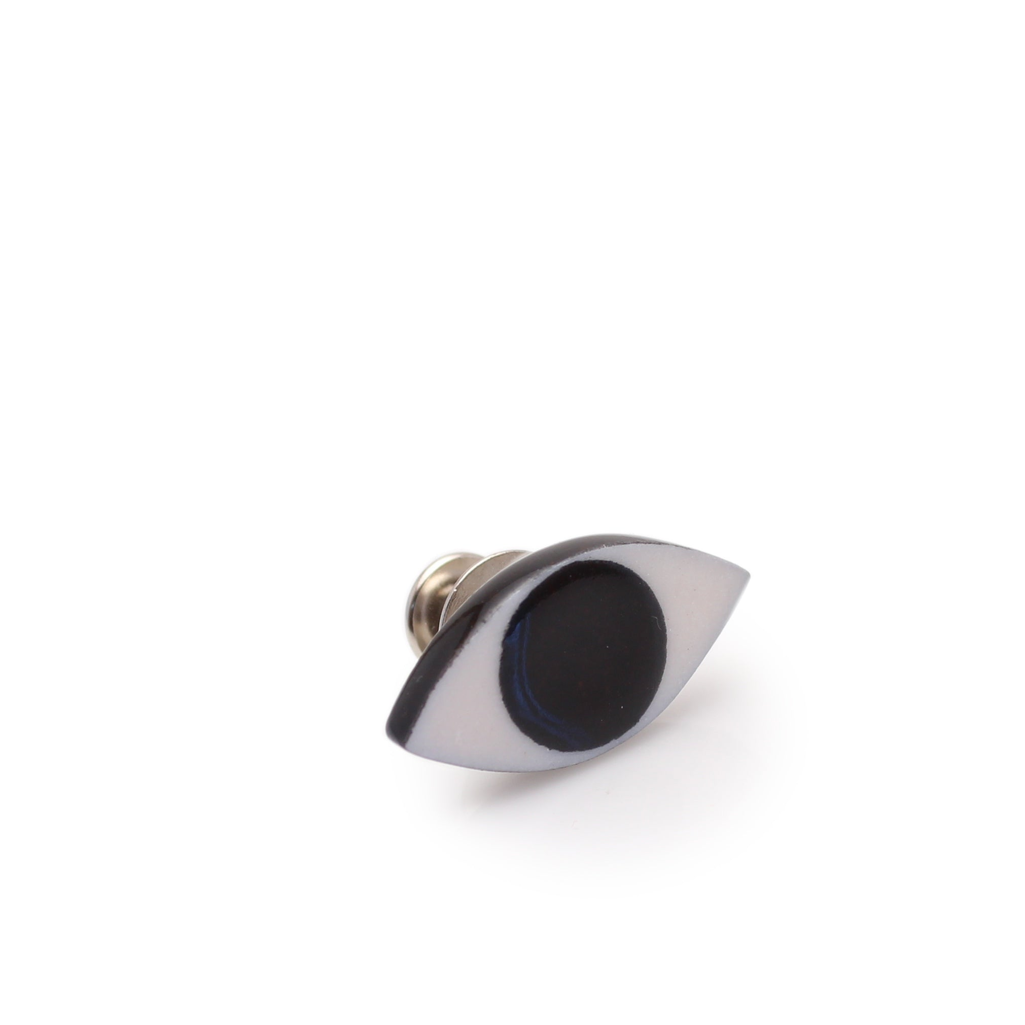 Evil Eye Pin Black