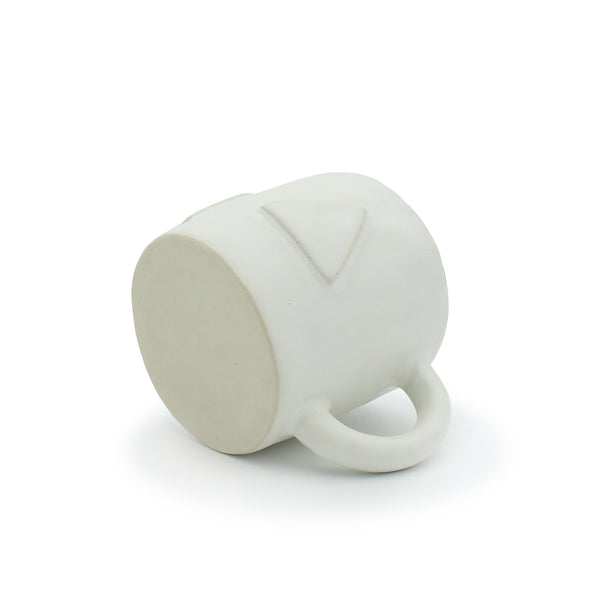 Marshmallow Mug with Laminated Shapes #1