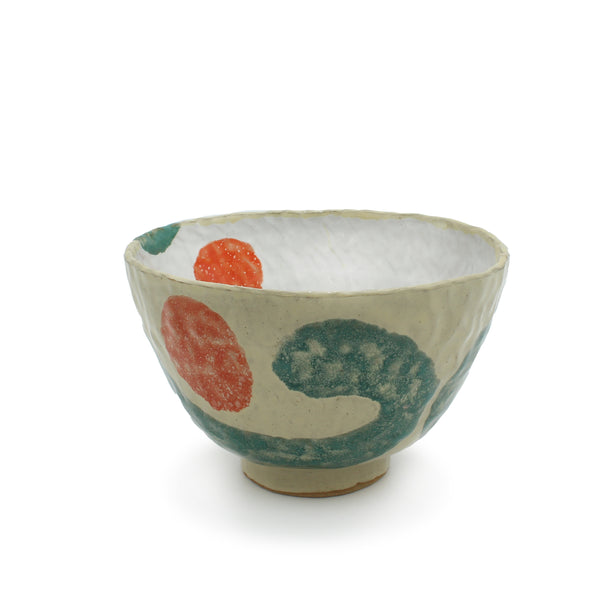 Bowl with Squiggle and Dots