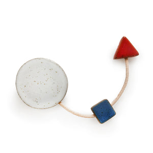 Floating Square Brooch